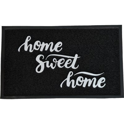 Outdoor Printed Home Sweet Home PVC Doormat