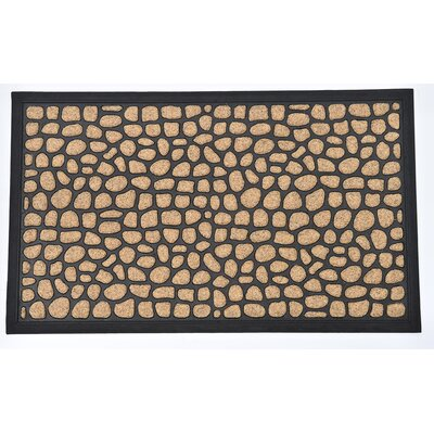 Sheltered Roundstone Polyester Doormat