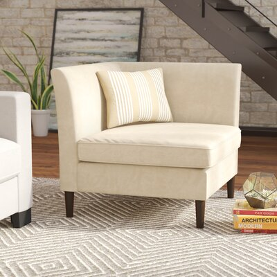 Salma Slipper Chair Upholstery: Buckwheat