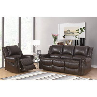 Digiovanni 2 Piece Living Room Set