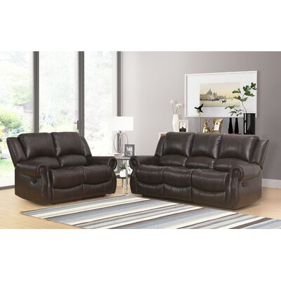 Digiovanni 2 Pieces Living Room Set