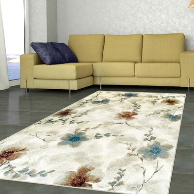 Dickert Stone Area Rug Size: Rectangle 5 x 8