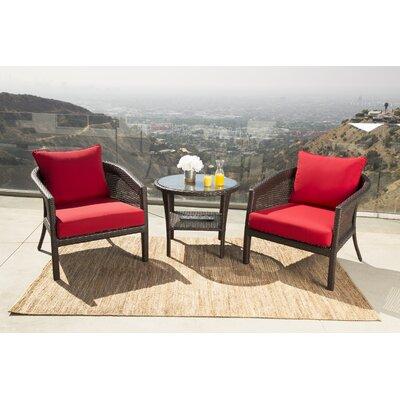 Wicker Chair Set 2615