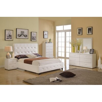 Pastrana Panel Bed Size: King