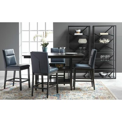 Lawing 5 Piece Counter Height Pub Table Set