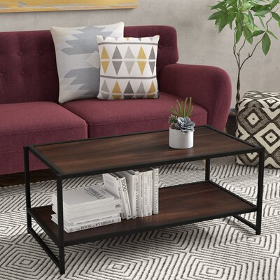 Avey Coffee Table Color: Brown