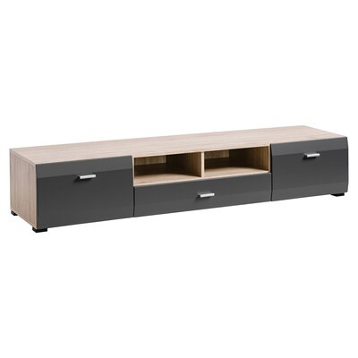 Spivey 80 TV Stand Color: Sand/Remo Grafite