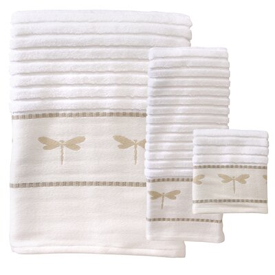 Bordelon 3 Piece Towel Set