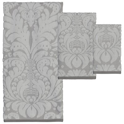 Kaufman 6 Piece Jacquard Towel Set