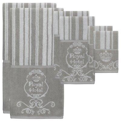 Maltby Jacquard 6 Piece Towel Set