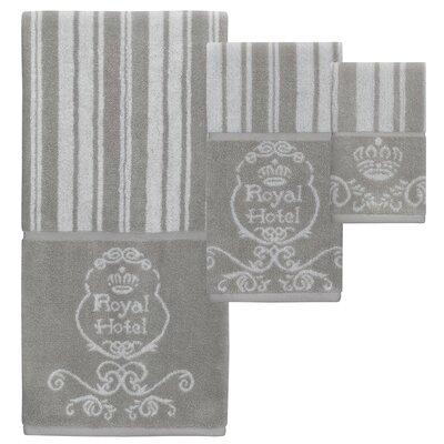 Maltby Jacquard 3 Piece Towel Set