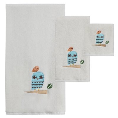 Hepler 3 Piece Towel Set