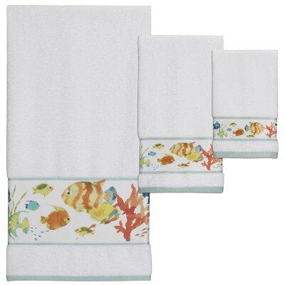 Cater 3 Piece Print Towel Set