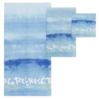 Fenske Splash Print 3 Piece Towel Set