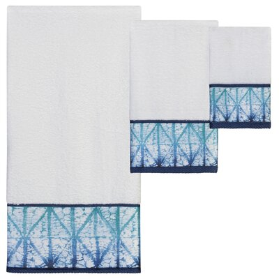 Blytheswood Print 3 Piece Towel Set