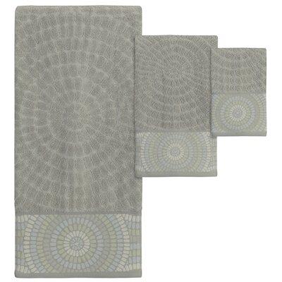 Montauk Jacquard 3 Piece Towel Set