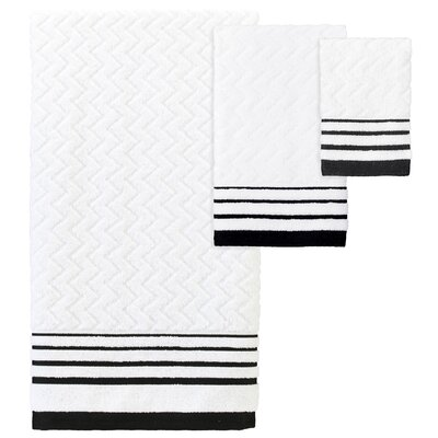 Fenske Modern 3 Piece Towel Set