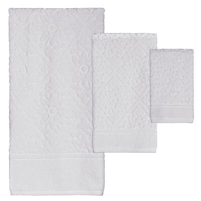 Xander Jacquard 3 Piece Towel Set