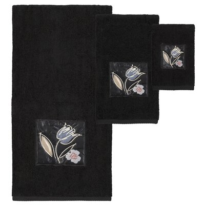 Alison 3 Piece Towel Set