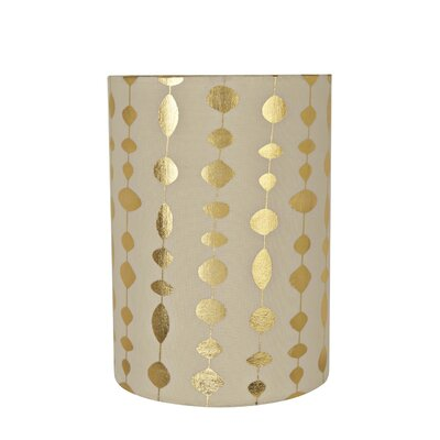 Transitional Spider 8 Fabric Drum Lamp Shade