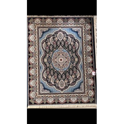 Pinter Persian Wool Blue Area Rug