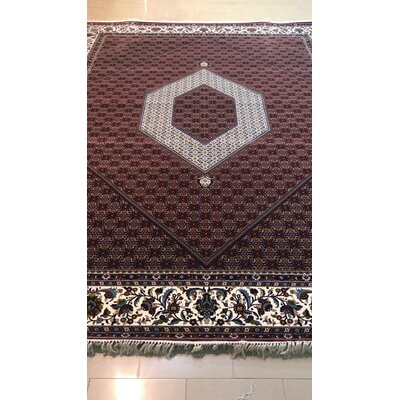 Pinzon Persian Wool Red Area Rug
