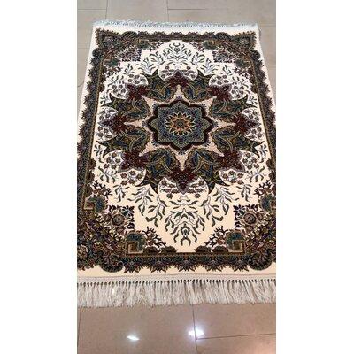 Pipkins Persian Wool Cream Area Rug