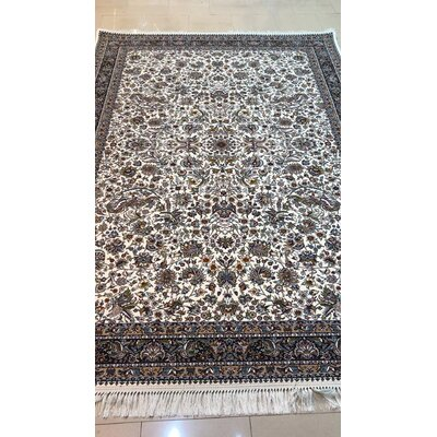 Pires Persian Wool Cream Area Rug