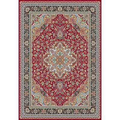 Port Augusta Persian Wool Red Area Rug Rug Size: Rectangle 8'2