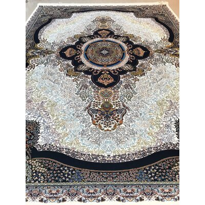 Poitra Persian Wool Cream Area Rug
