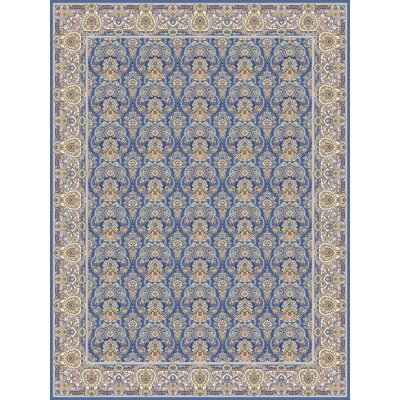 Pokorny Persian Wool Blue Area Rug