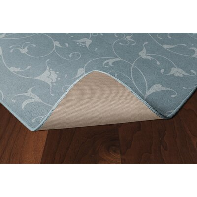 Dessert Floral Blue Area Rug Rug Size: Rectangle 34 x 5