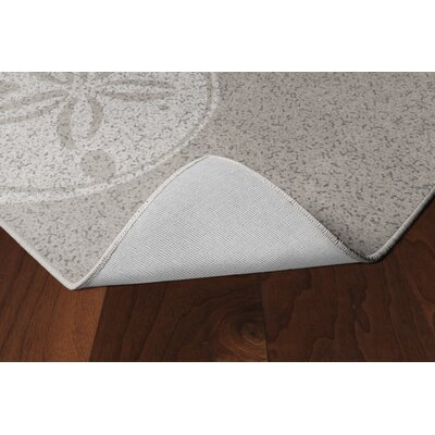 Chaves Sand Dollars Neutral Beach Beige Area Rug Rug Size: Rectangle 5 x 8