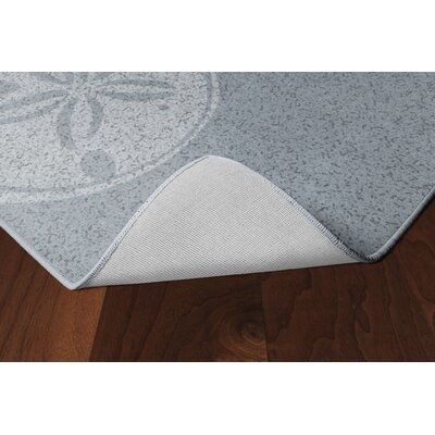 Chaves Sand Dollars Beach Blue Area Rug Rug Size: Rectangle 76 x 10
