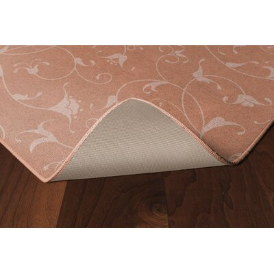 Demetra Simple Floral Salmon Area Rug Rug Size: Rectangle 34 x 5