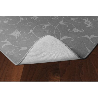 Dessert Floral Gray Area Rug Rug Size: Rectangle 76 x 10