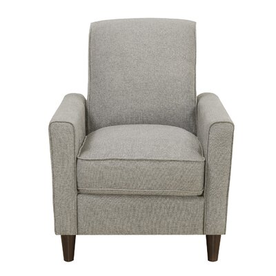 Koepp Manual Recliner Upholstery: Sand