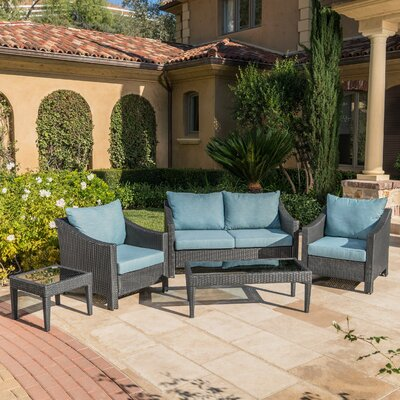 Check out the Rattan Sofa Set Product Photo