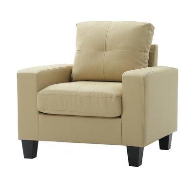 Meunier Armchair Upholstery: Beige