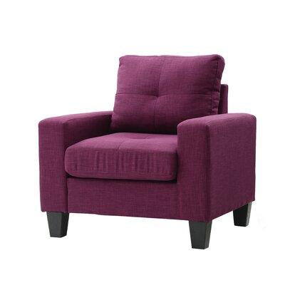Meurer Armchair Upholstery: Berry