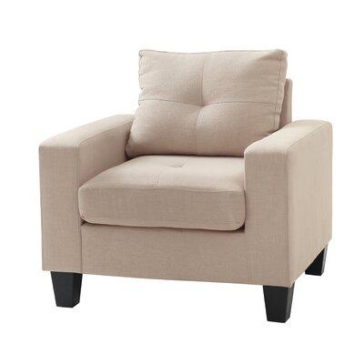Meurer Armchair Upholstery: Tan