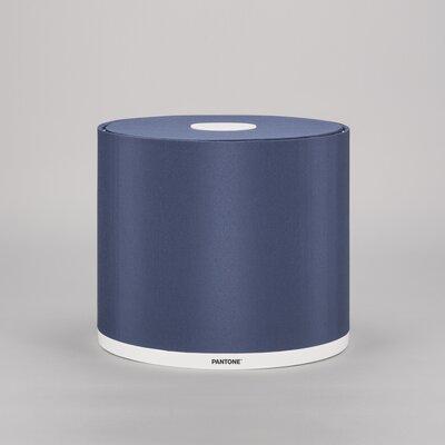 Mintaka 9.8 Silk Drum Lamp Shade Color: Sargasso Sea