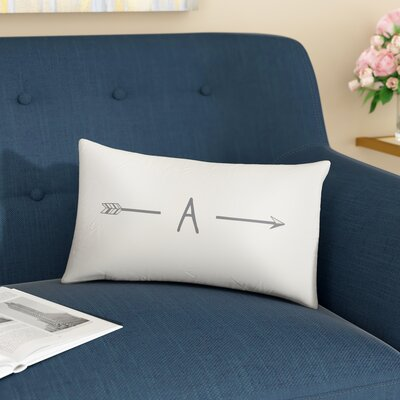 Fernando Personalized Lumbar Pillow Letter: A