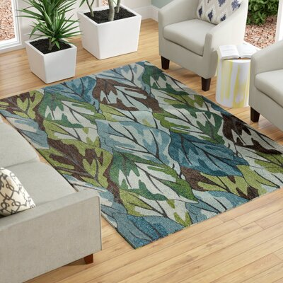 Babara Blue Area Rug Rug Size: 910 x 132