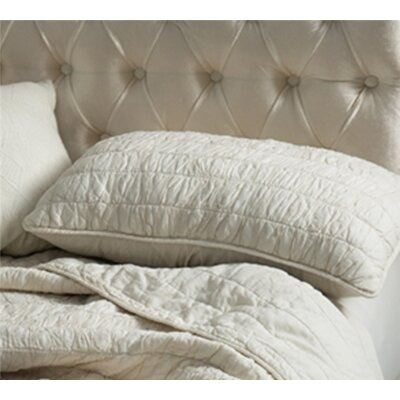 Masson Cotton Pure Textured Sham Size: King, Color: Off White