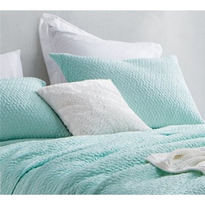 Florio Softest Stone Washed Sham Size: Standard/Twin, Color: Mint