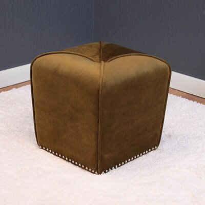 Westberry Ottoman Upholstery: Brown Sugar