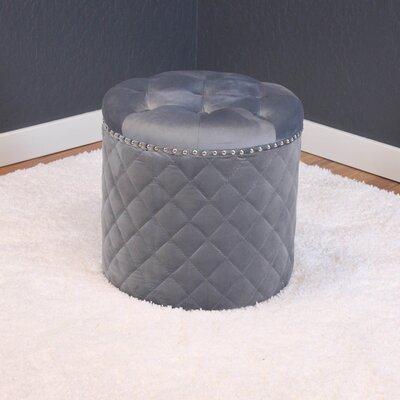Westbrooks Ottoman Upholstery: Sharkfin Gray