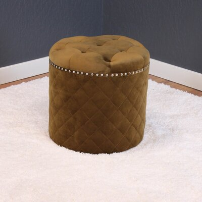 Westbrooks Ottoman Upholstery: Brown Sugar
