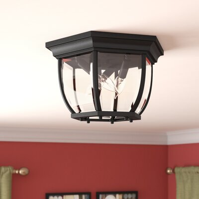 Oakhill 3-Light Flush Mount Finish: Matte Black